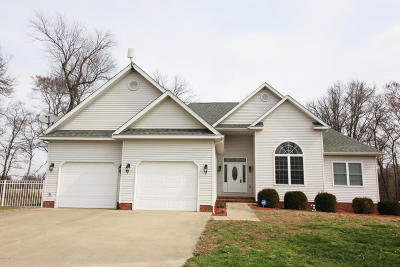 Carterville Single Family Home Active Contingent: 1110 Travis Lane