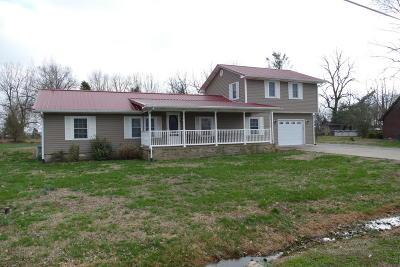 Massac County Single Family Home For Sale: 1062 Cedar Lane