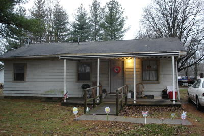 Benton Single Family Home For Sale: 205 S Studell