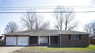 Marion Single Family Home For Sale: 309 S Carbon