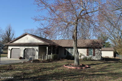 Carterville Single Family Home Active Contingent: 205 S Greenbriar Road