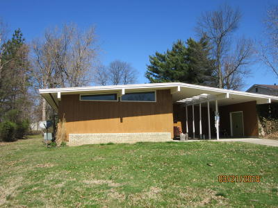 Massac County Single Family Home Active Contingent: 3 Crestview Drive