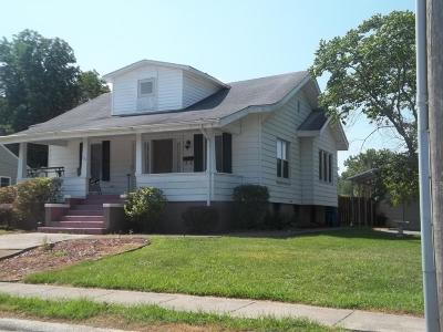 Benton Single Family Home For Sale: 700 W Washington Street