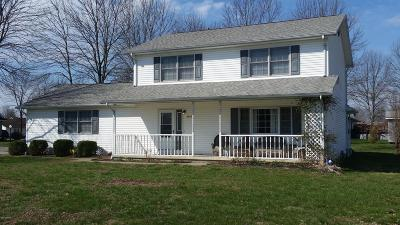 Herrin IL Single Family Home For Sale: $159,000