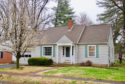 Carbondale Single Family Home For Sale: 605 S James Street