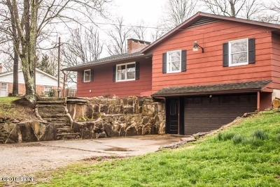 Carbondale Single Family Home Active Contingent: 7617 Giant City Road