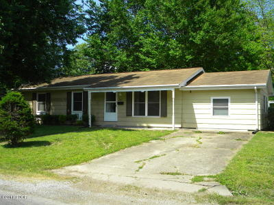 Murphysboro IL Single Family Home For Sale: $37,600
