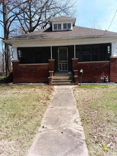Carbondale Single Family Home For Sale: 201 N Springer