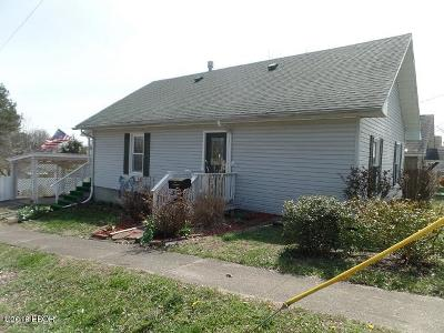 West Frankfort Single Family Home For Sale: 316 N Parkhill