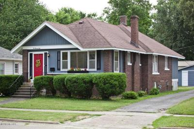 Benton Single Family Home For Sale: 208 W 6th Street