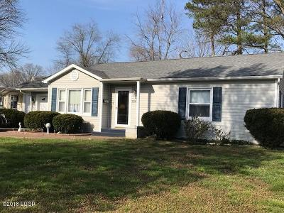Murphysboro Single Family Home For Sale: 2142 Gartside
