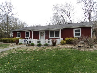 Harrisburg IL Single Family Home Active Contingent: $107,000
