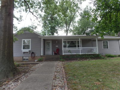Harrisburg IL Single Family Home For Sale: $109,500