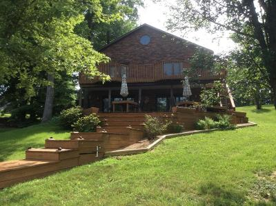 Creal Springs, Goreville, Marion Single Family Home For Sale: 12685 North Shoreland Drive