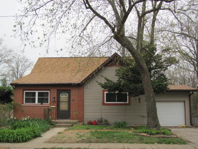 Carbondale Single Family Home For Sale: 516 N Oakland Avenue