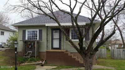 Johnston City IL Single Family Home For Sale: $26,000