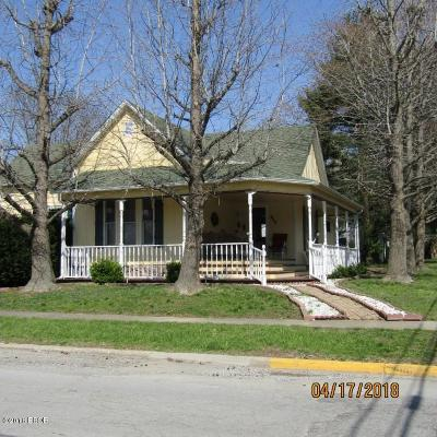 Johnston City IL Single Family Home For Sale: $69,900