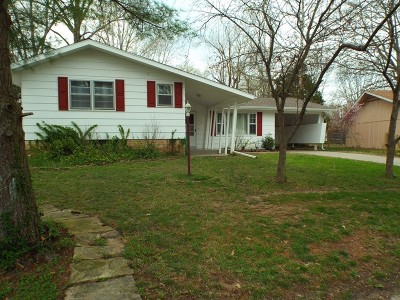 Carbondale IL Single Family Home For Sale: $98,000