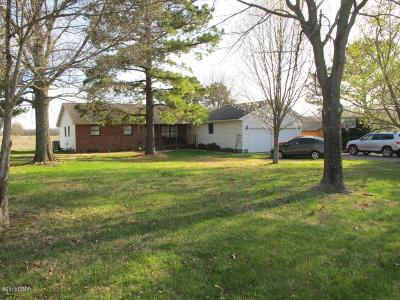 Marion IL Single Family Home For Sale: $129,500