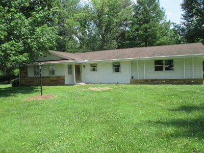 Murphysboro IL Single Family Home For Sale: $125,000