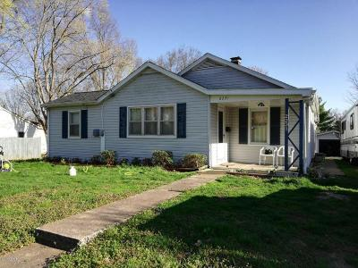 Murphysboro IL Single Family Home For Sale: $75,900