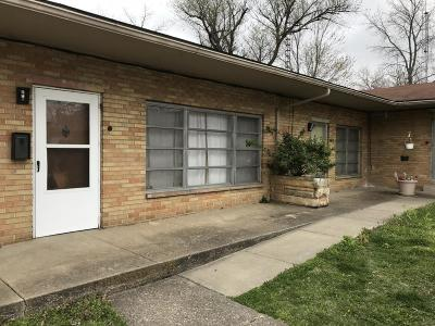 West Frankfort Multi Family Home For Sale: 1401 E Main Street