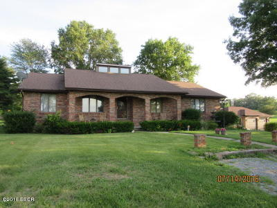 Marion Single Family Home For Sale: 3202 Old Creal Springs Rd Road