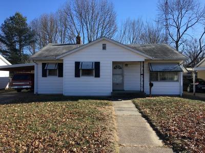 Murphysboro Single Family Home For Sale: 920 N 22nd Street