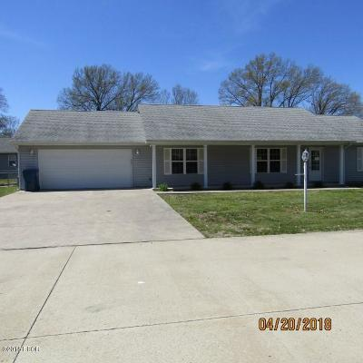 Harrisburg IL Single Family Home For Sale: $139,900
