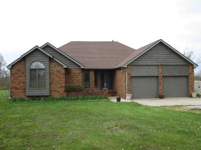 Johnston City Single Family Home Active Contingent: 16495 Route 37
