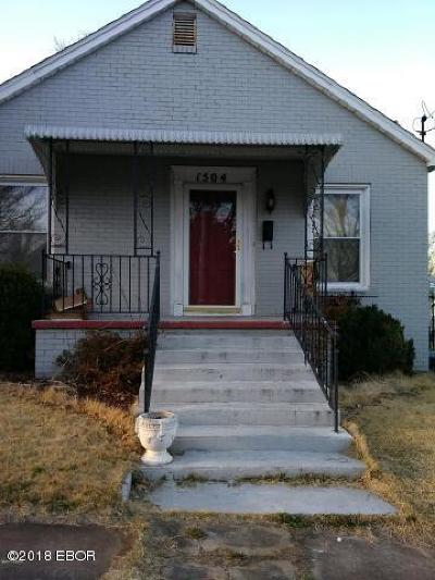 Single Family Home For Sale: 1504 Roosevelt Avenue