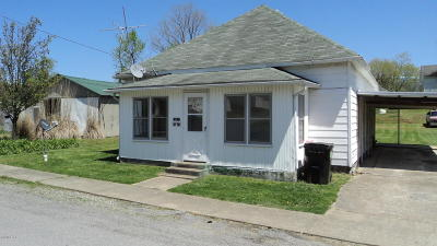 Harrisburg IL Single Family Home For Sale: $23,500