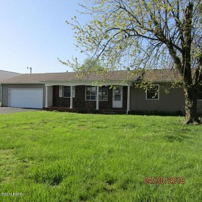 Harrisburg IL Single Family Home For Sale: $94,900