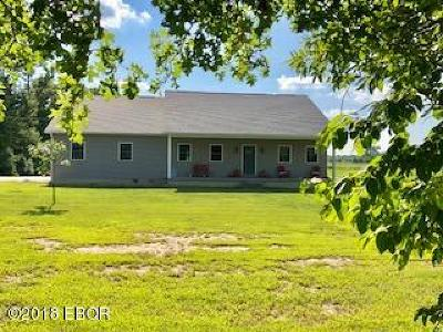 Johnston City Single Family Home For Sale: 13657 Christmas Tree Road