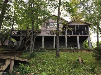 Creal Springs, Goreville, Marion Single Family Home For Sale: 12247 Pebble Point Road
