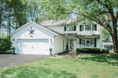 Marion Single Family Home For Sale: 1804 Calico Road