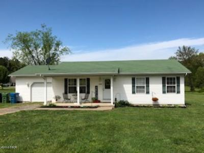 West Frankfort Single Family Home For Sale: 1129 Ramsey Heights Road