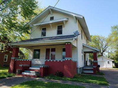West Frankfort Single Family Home For Sale: 903 E Poplar Street