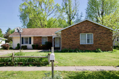 Carbondale Single Family Home For Sale: 1801 W Walnut Street