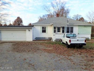 Johnston City Single Family Home For Sale: 13645 Route 37