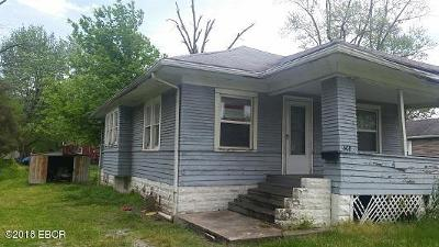 Benton Single Family Home For Sale: 508 S Commercial Street