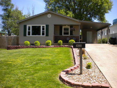 Harrisburg IL Single Family Home For Sale: $129,000