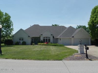 Marion Single Family Home For Sale: 1503 Lisa Lane