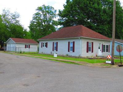 Benton Single Family Home For Sale: 1110 Highland Street