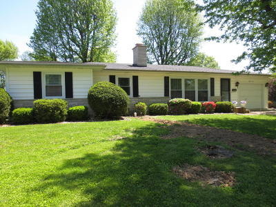 Marion IL Single Family Home For Sale: $110,000