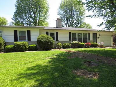 Marion Single Family Home For Sale: 805 Dogwood Lane