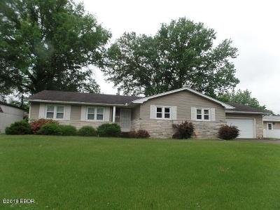 Marion IL Single Family Home For Sale: $125,000