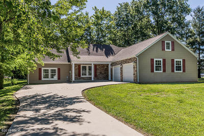 Carterville Single Family Home Active Contingent: 1406 Country Aire Drive