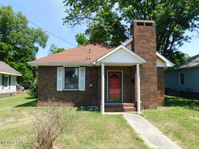 Harrisburg IL Single Family Home For Sale: $39,900