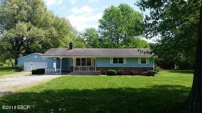 Massac County Single Family Home For Sale: 804 Pell Road